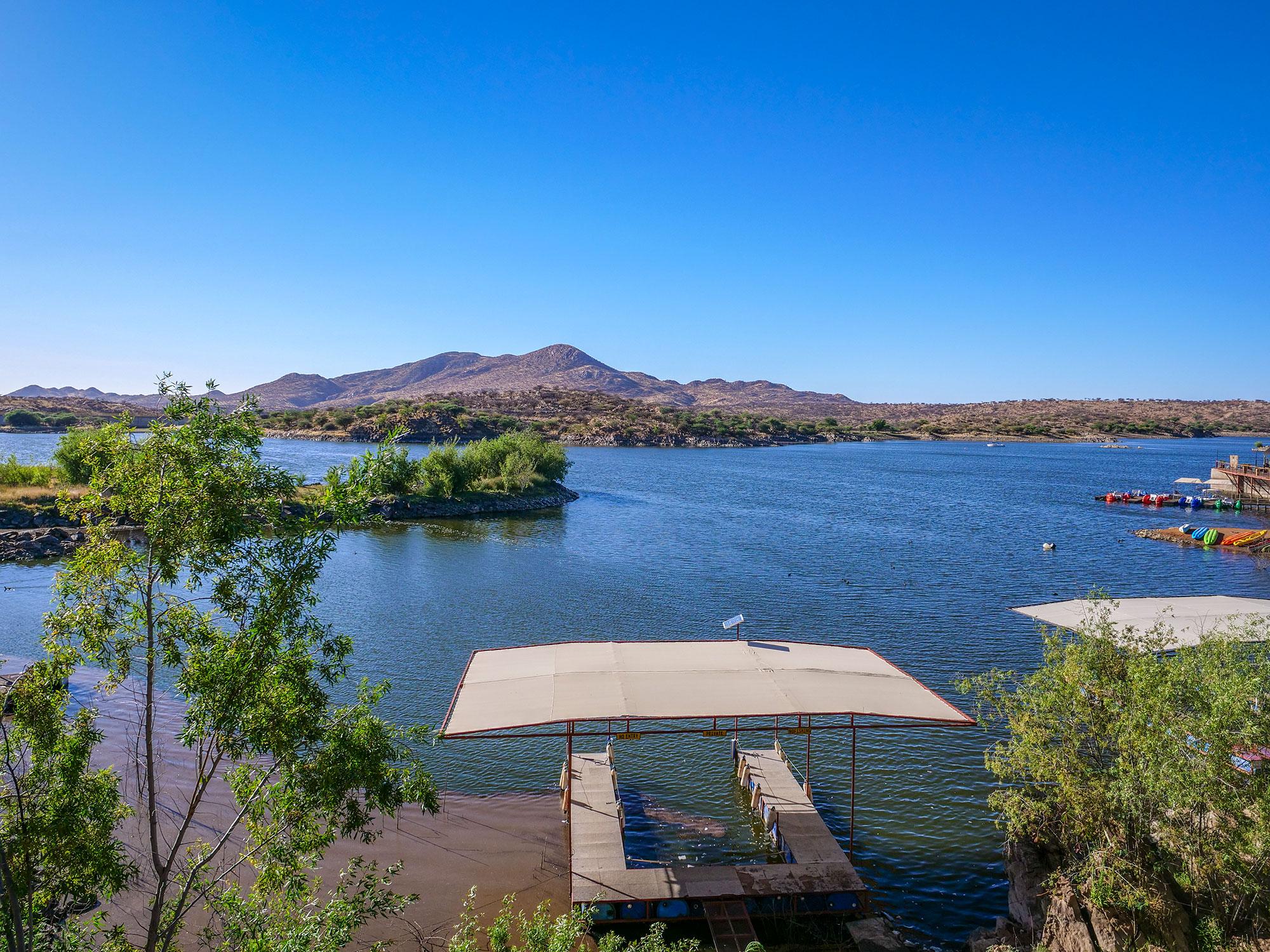 Lake Oanob Resort, Rehoboth, Namibia, Africa